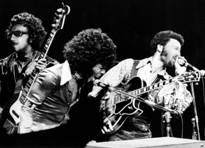 Bubby Sly Stone and Clean on stage